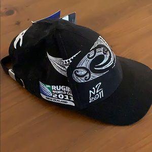 NZ Rugby Baseball cap